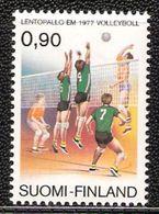 Finland 1977 European Volleyball Championship. Mi 814 MNH(**) - Finlande