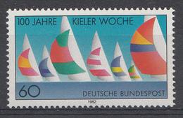 Allemagne Rep.Fed. 1982  Mi.:nr. 1132 Kieler Woche  Neuf Sans Charniere / Mnh / Postfris - [7] République Fédérale