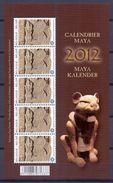 België - 2012    Volledig Postfris Velletje Van 5 Van De Maya Kalender          OBP 4194 - Belgique