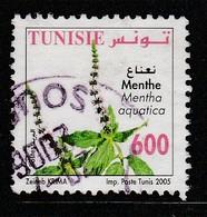 Tunisia 2005 Medicinal Plants 600m Multicolor SW 1641 O USED - Tunisia