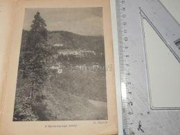 Semmering Austria Print Engraving Gravour 1927 - Stiche & Gravuren