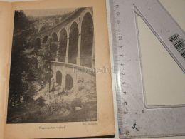Viadukte Der Semmeringbahn Wagnergraben Semmering Austria Print Engraving Gravour 1927 - Stiche & Gravuren