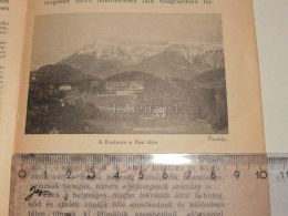 Rax Kurhaus Semmering Austria Print Engraving Gravour 1927 - Stiche & Gravuren