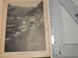 Krausel Klause Viadukt Semmering Austria Print Engraving Gravour 1927 - Stiche & Gravuren