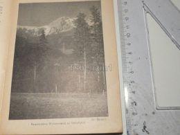 Rax Preinerwand Orthof Semmering Austria Print Engraving Gravour 1927 - Stiche & Gravuren
