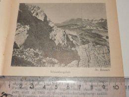 Schneeberg Semmering Austria Print Engraving Gravour 1927 - Stiche & Gravuren