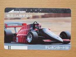 Japon Japan Free Front Bar, Balken Phonecard - / 110-6367 / ADVAN Car - Cars