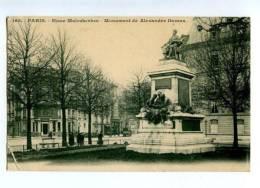 131579 FRANCE PARIS Alexander Dumas Monument RPPC To RUSSIA - Unclassified