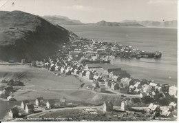 Norway Postcard Sent To Denmark Tromsø 21-8-1949 (Hammerfest The Northernmost City Of The World) 1 Weak Corner - Norway