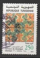 Tunisia 2001 Tourism 250m Multicolor SW 1492 O USED - Tunisia