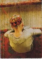 Afghanistan Postcard Sent To Sweden 17-1-1979 (Carpet Weaver Afghanistan) - Afghanistan