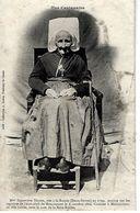 """79 - MONCOUTANT - T.Belle Vue D'une Centenaire """" Mme Texier """" Née à LA RONDE  En 1799 ( Mère Roulet ) - Moncoutant"""