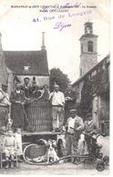 MARSANNAY La COTE Vendanges 1911 Le Pressoir Maison QUILLARDET - Vin - Animée - Bourgogne - Francia