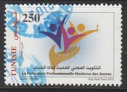 Tunisia 2015 Modern Professional Training Youth 250m Multicolor SW 1855 O USED - Tunisia