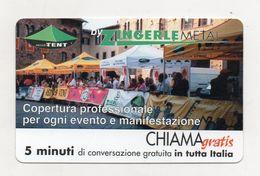 Telecom - Scheda Chiama Gratis - 2001 - ZINGERLE METAL - 5 Minuti Di Conversazione Gratuita - NUOVA - (FDC7614) - [2] Sim Cards, Prepaid & Refills