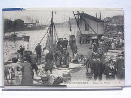 BOULOGNE SUR MER (62) - TRIAGE DU POISSON - ANIMEE - Boulogne Sur Mer