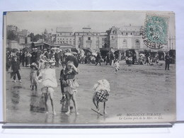 BOULOGNE SUR MER (62) - LE CASINO PRIS DE LA MER - ANIMEE - 1906 - Boulogne Sur Mer