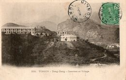 TONKIN - Dong-Dang - Casernes Et Village - Viêt-Nam