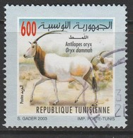 Tunisia 2003 Animals And Plants 600m Multicolor SW 1581 O USED - Tunisia