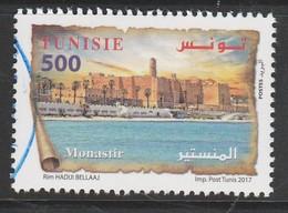 Tunisia 2017 Tunisian Cities - Monastir 500m Multicolor SW 1923 O USED - Tunisia