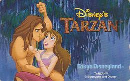 Télécarte NEUVE Japon / 110-209667 - DISNEY Disneyland - Film TARZAN - Japan MINT Movie Phonecard Telefonkarte - Disney