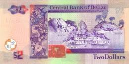 BELIZE P. 66c 2 D 2007 UNC - Belize