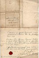 """-HAVELANGE,année 1698,inscription Dans Le Régistre Batismal . Voir Signature """"G A.Gouffart?""""d'Havelange-Petit Cachet De - Manoscritti"""
