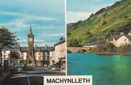 MACHYNLLETH DUAL VIEW - Montgomeryshire