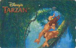 Télécarte Japon / 110-209230 - DISNEY - Film TARZAN ** V2 ** - Japan Movie Phonecard Telefonkarte - Disney