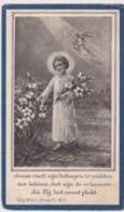 Doodsprentje Kindje, Jozef-Philomeen Verbrecht. °Pulderbos, +Pulderbos. - Obituary Notices