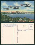 USA [OF #15652] - FLORIDA FL - U S NAVY BOMBERS OVER THE ST JOHN'S RIVER AT JACKSONVILLE - Jacksonville