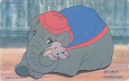 Télécarte NEUVE Japon / 110-185147 - DISNEY - DUMBO ELEPHANT - Série Film 1/3 - Japan MINT Movie Phonecard - Disney