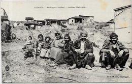 CPA Albanie Albania Type Kukus Réfugiés Sebes Serbie écrite - Albania