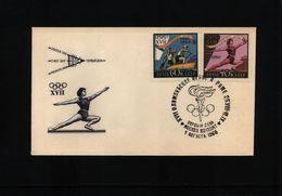 Russia SSSR 1960 Gymnastics On Olympic Games Rome - Gimnasia