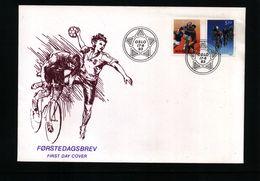 Norway 1993 Handball FDC - Handball