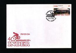 Cuba 2001 Interesting Sports Cover - Radsport