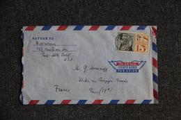 Lettre Des ETATS UNIS ( CALIFORNIE )  Vers FRANCE - Cartas