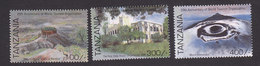 Tanzania, Scott #1418-1420, Mint Hinged, World Tourism, Issued 1995 - Tanzanie (1964-...)