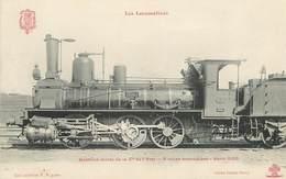 """CPA CHEMIN DE FER / TRAIN / LOCOMOTIVE  """"Série 3100, Machine Mixte De La Cie De L'Etat"""" - Trains"""