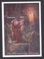 Tanzania, Scott #1417, Mint Never Hinged, Biblical Movies, Issued 1995 - Tanzania (1964-...)