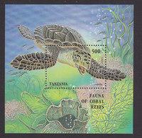 Tanzania, Scott #1411, Mint Never Hinged, Ocean Life, Issued 1995 - Tanzania (1964-...)