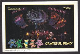 Tanzania, Scott #1413A, Mint Never Hinged, Grateful Dead, Issued 1995 - Tanzania (1964-...)