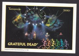 Tanzania, Scott #1413B, Mint Never Hinged, Grateful Dead, Issued 1995 - Tanzanie (1964-...)