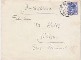 """NETHERLANDS 1939 (3.4.) COVER PM """"Mechelen Bij Bulten"""" TO GERMANY - Period 1891-1948 (Wilhelmina)"""