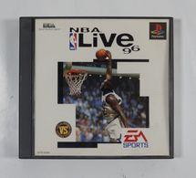 PS1 Japanese : NBA Live 96 SLPS-00389 - Sony PlayStation