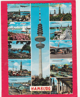 Modern Multi View Post Card Of Hamburg,Germany,B35. - Germany