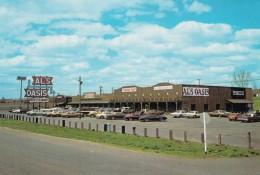 Chamberlin South Dakota, Al's Oasis Restaurant & Inn, Roadside Tourist Stop, C1970s/80s Vintage Postcard - Etats-Unis