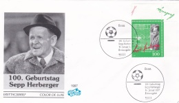 Germany FDC 1997 Trainer Der National Elf - Sepp Herberger (DD14-32) - Football