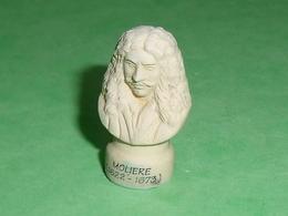"""Fèves / Personnages / Métiers : Buste De Molière   """" Mat  """"     T84 - Characters"""