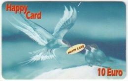 AUSTRIA E-601 Prepaid GlobalLine - Painting, Animal, Bird, Swallow - Used - Austria